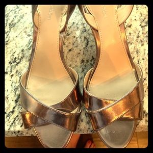 Rose Gold Calvin Klein heels